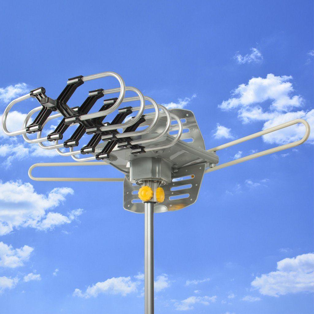 More Viewers Use TV Antennas